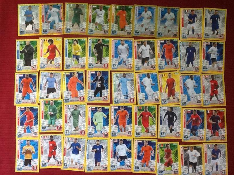 Match Attax 2014 World Cup cards